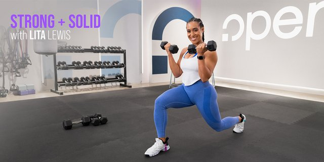 NEW: Get Strong and Solid With Lita Lewis on Openfit!